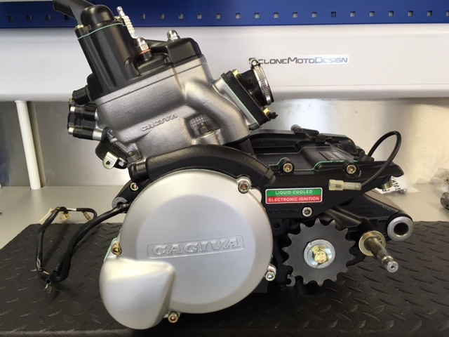 '93 Cagiva Mito Complete Engine Restoration back to Factory finish